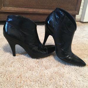 BCBGirls Patent Leather Booties
